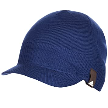 adidas Performance Visor Peak Beanie Hat - OSFW  Amazon.co.uk ... 6c00806cc