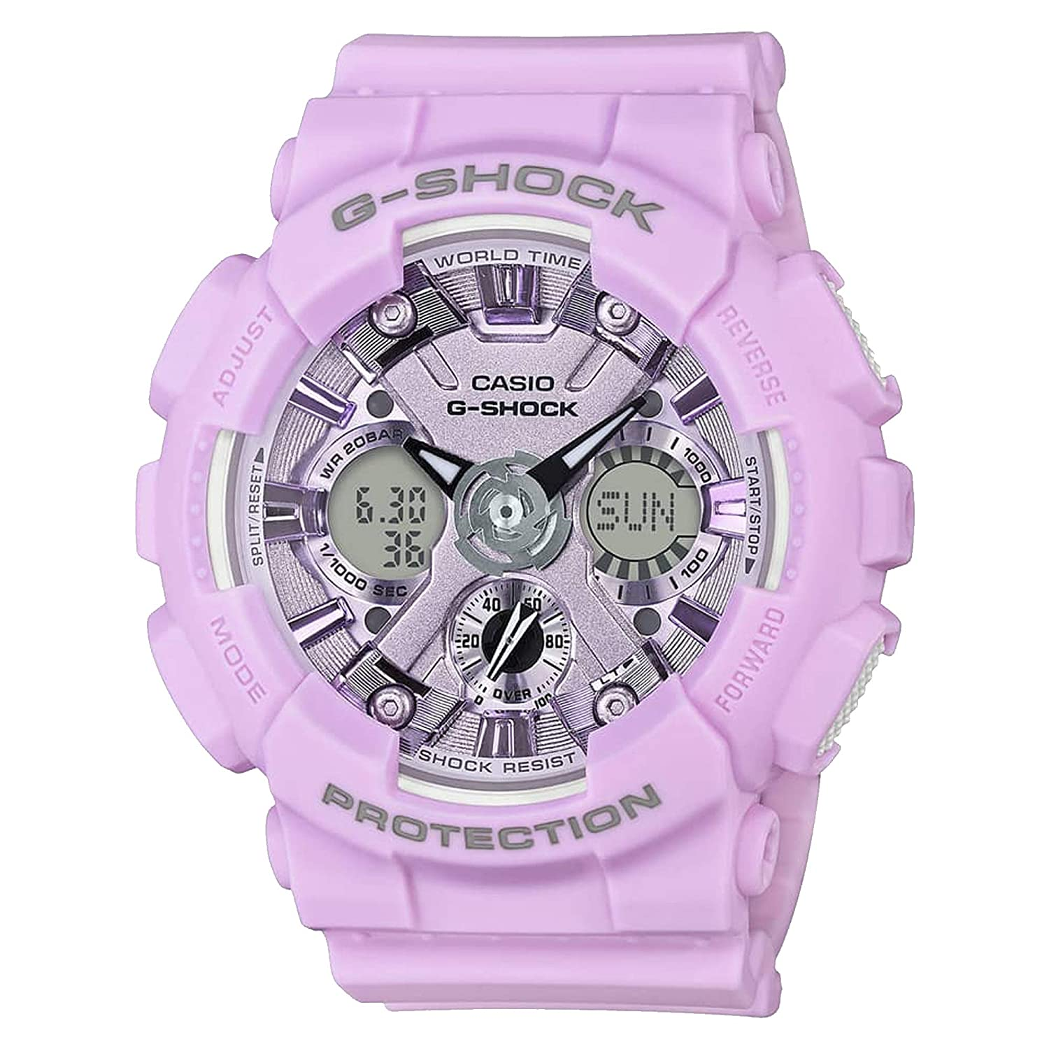 G-Shock By Casio Unisex S Series GMAS120DP-6A Watch Purple