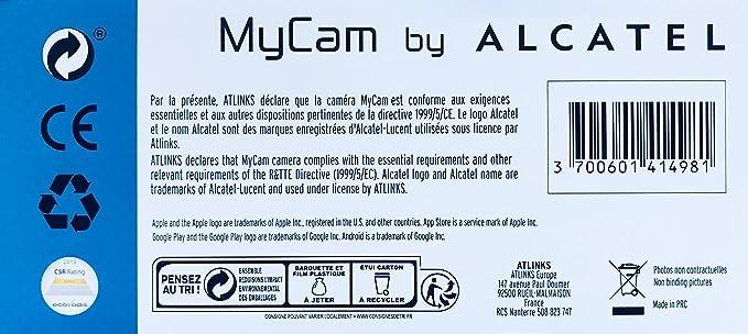 Alcatel MyCam IP Camera IPC-21FX: Amazon co uk: Computers