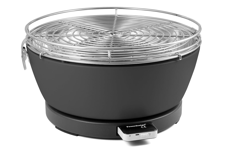 Barbecook Rauchfreier Holzkohlegrill : Barbecook rauchfreier holzkohlegrill tischgrill carlo mit