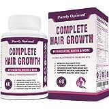 Premium Hair Growth for Women & Men - Hair Growth Vitamins w/ Biotin & Keratin - Prevents Hair Loss & Thinning, Supports…