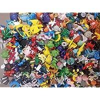 144pcs Pokemon Diamond Toys Action Figure - Estimated Size 2-3cm - One Lot