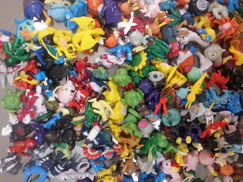 144pcs Pokemon Diamond Toys Action Figure - Estimated Size 2-3cm - One Lot Idesire