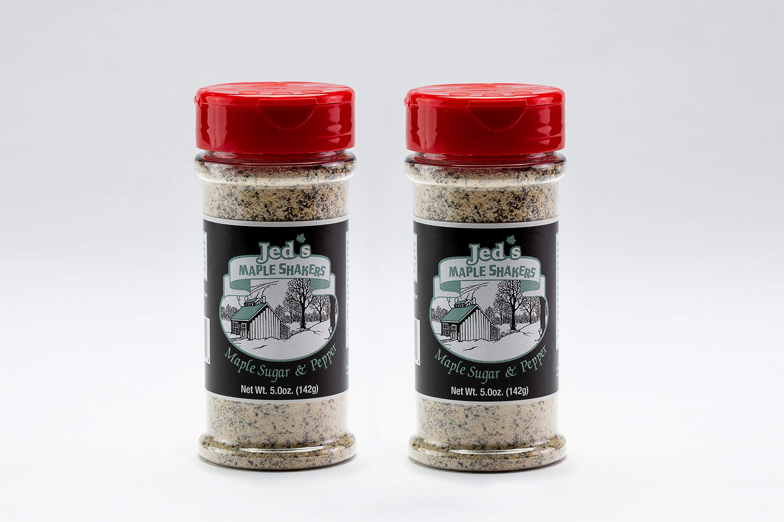 Jed's Vermont Maple Sugar & Pepper - Seasoning Food - 5.0 oz 2 pack