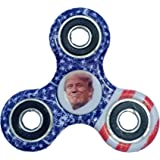 Fidget Spinner Donald Trump Hand Spinner American Flag High Speed Anti Stress, ADHD, ADD, Anxiety, Focus Toy gift