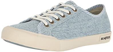 SeaVees Women's 06/67 Monterey Beach Club Fashion Sneaker, Soft Blue, ...