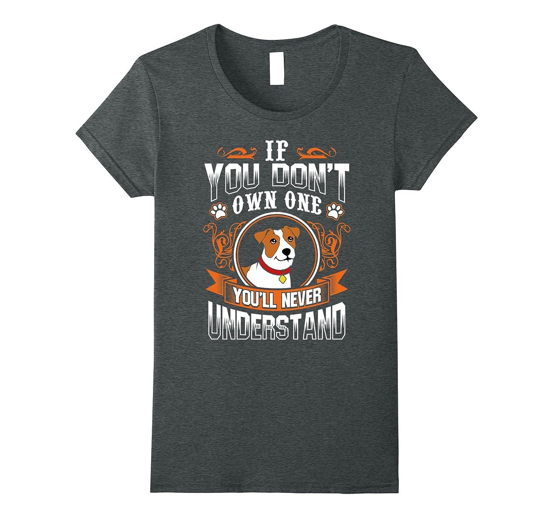 Jack Russell Terrier T Shirt Asphalt-Awarplus