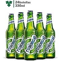 Cerveza Importada Premium Tuborg 24 botellas de 330ml c/u