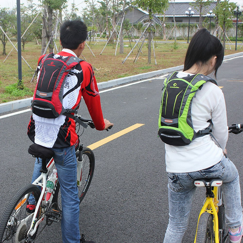 YUDODO V/élo Sac /à dos Sac /à dos dhydratation avec gourde 2L l/éger Nylon /Étanche rucksacke pour moto roue Sport Cyclisme
