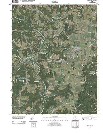 Amazon Com Ohio Maps 2010 Peebles Oh Usgs Historical Topographic