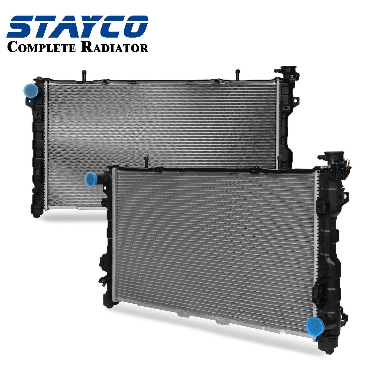 Stayco Radiator 32mm Core For Chrysler Dodge Fit Town 2002 Grand Caravan Engine Cooling System Hoses Diagram Country Voyager 33 38 Automotive