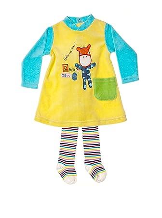 Pierre Cardin Baby Girls Dress 24 Meses 92 Cm Multicoloured