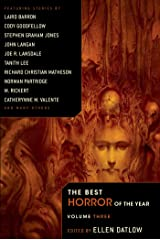 The Best Horror of the Year Volume 3 Kindle Edition