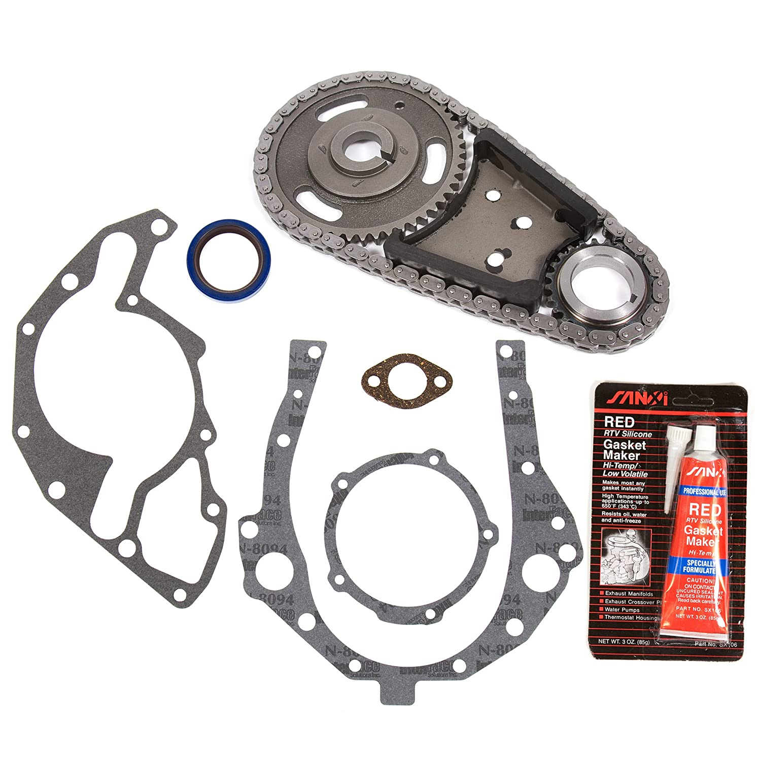 Chevy Lumina Timing Belt Pontiac Evergreen Chevrolet Oldsmobile Saturn Ohv Chain Kit Cover Gasket Automotive 1500x1500