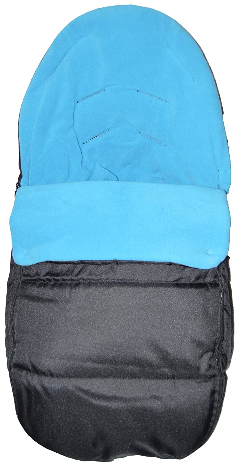 Car Seat Footmuff/Cosy Toes Compatible with Maxi Cosi Cabrio Pebble Ocean Blue For-Your-Little-One