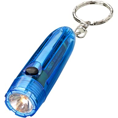 Bullet - Linterna llavero (7.1 x 2 cm/Azul Transparente ...