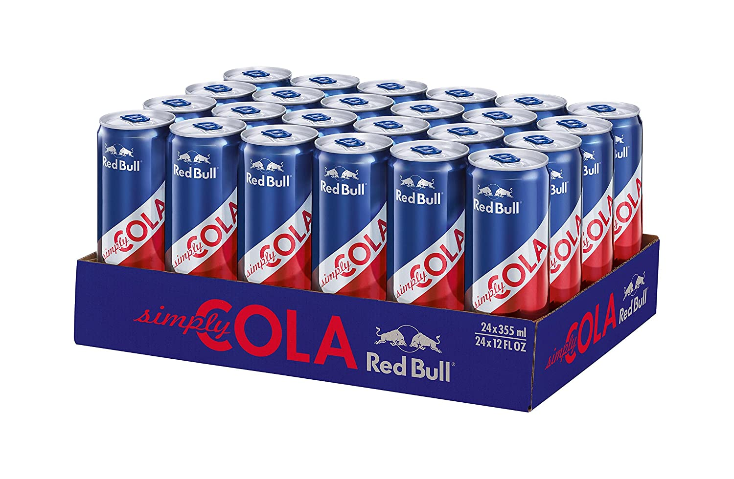 Red Bull Getränke Kühlschrank : Red bull simply cola 24er pack 24 x 355 ml : amazon.de