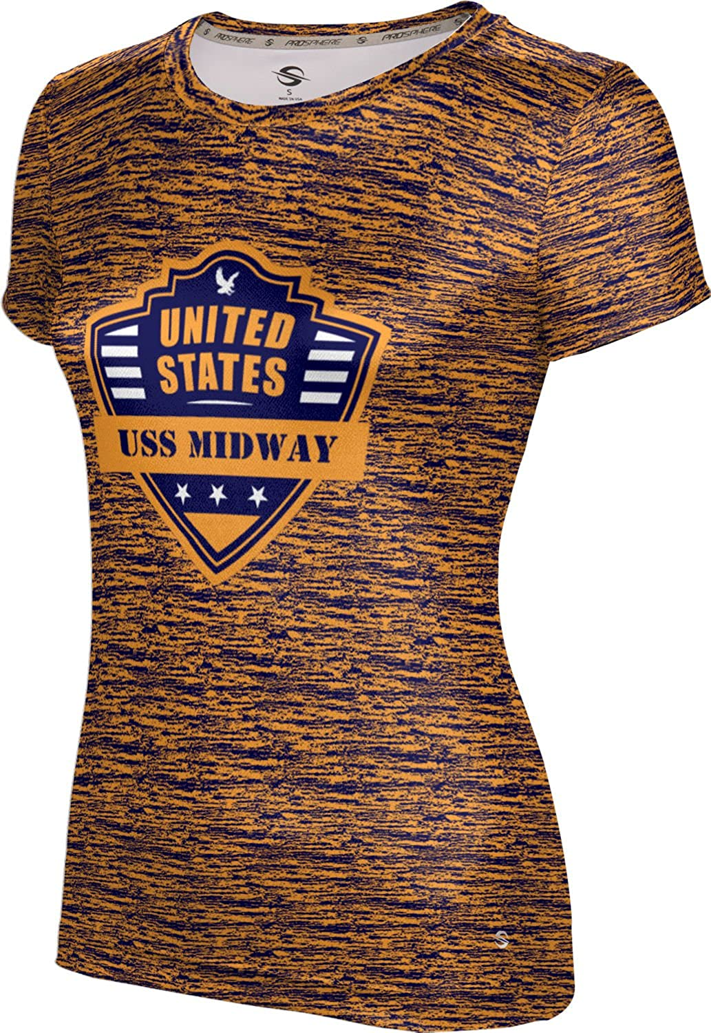 ProSphere Women's USS Midway Military Brushed Tech Tee