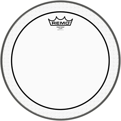 "12/"" Remo Pinstripe Clear Drumhead"