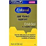 Enfamil D-Vi-Sol Vitamin D Supplement Drops 50 mL (Packs of 2)