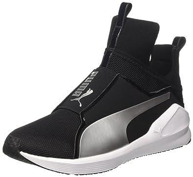 Nuova Moda Puma Fierce S Swan Scarpa Da Fitness Bianco Nero