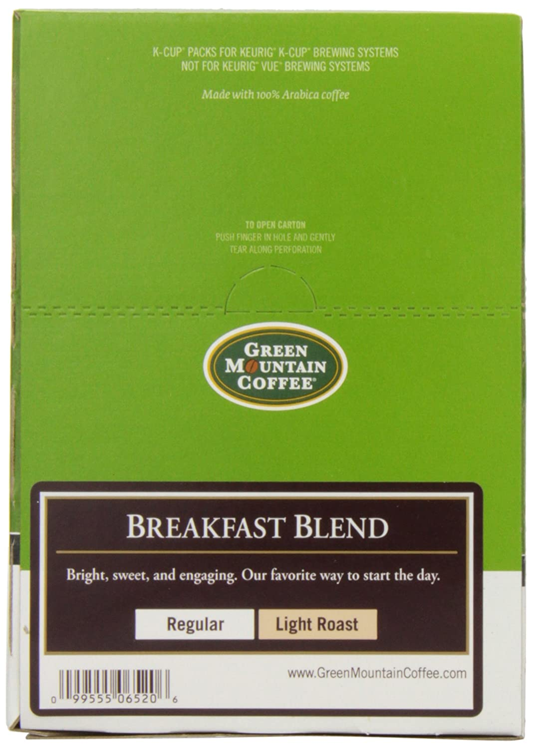 green mountain coffee kcups breakfast blend kcup portion count for keurig brewers 96count amazoncom grocery u0026 gourmet food - K Cups Bulk