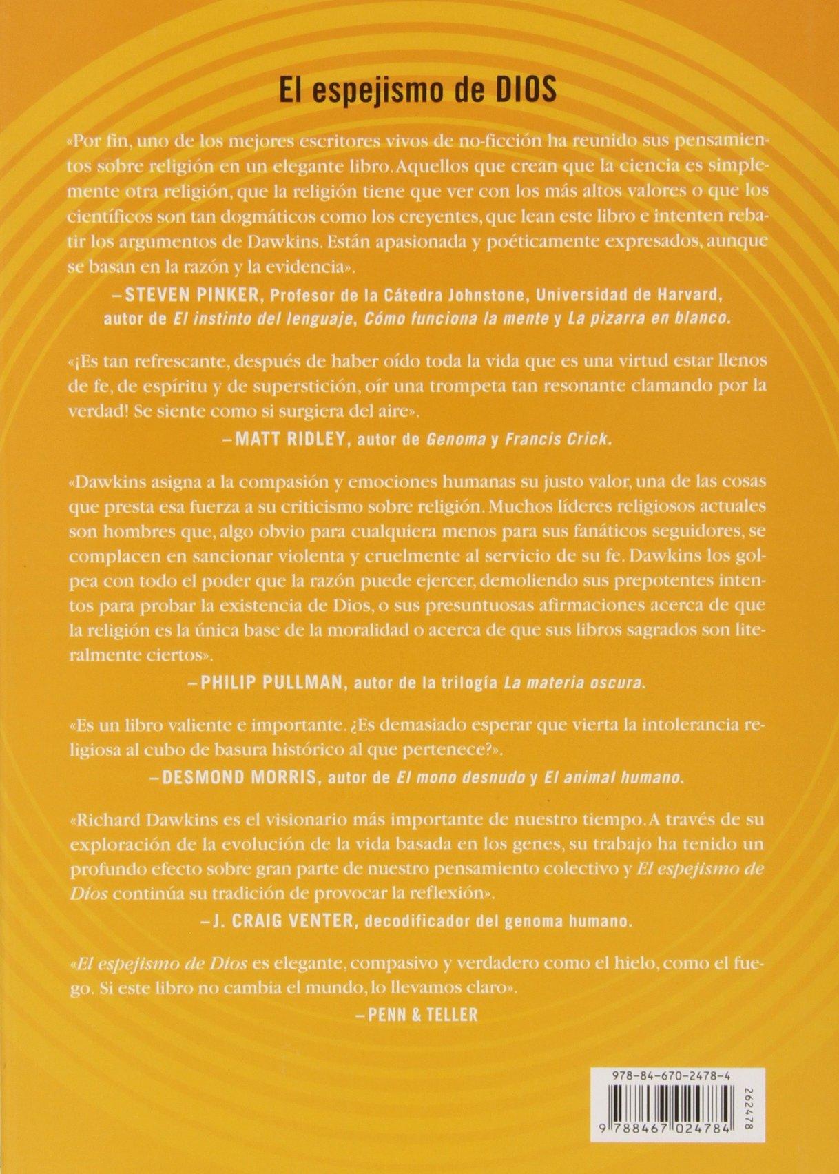 El Espejismo De Dios: Unknown: 9788467024784: Amazon.com: Books
