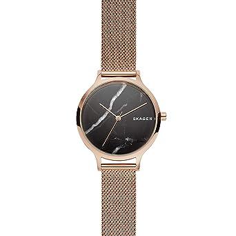 Skagen Reloj Analógico para Mujer de Cuarzo con Correa en Acero Inoxidable SKW2721: Amazon.es: Relojes