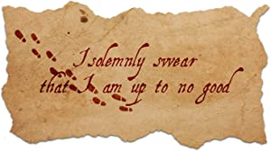 """Bargain Max Decals I Solemnly Swear I Am Up to No Good Quote Window Laptop Car Sticker 8"""""""