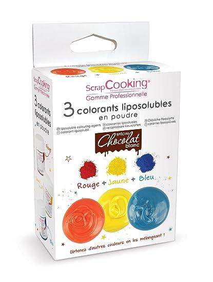 colorantes liposolubles rojo, amarillo y azul: Amazon.es: Hogar