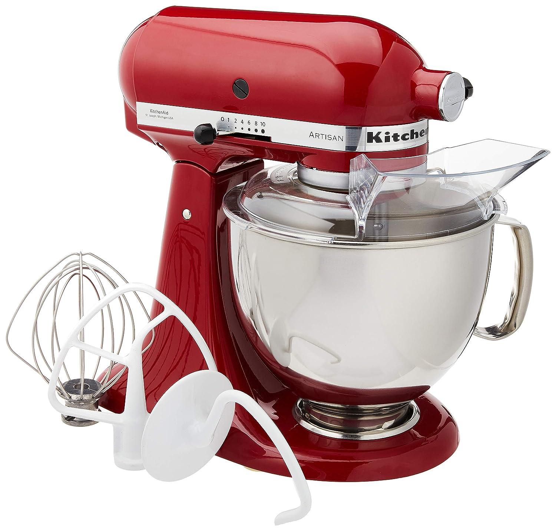 Kitchen Aid Robot Artisan 4,8 Lt Rojo imperio: Amazon.es: Hogar