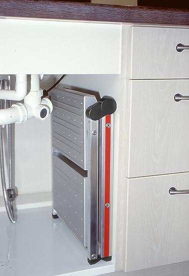 Hymer 602404 Petit escabeau SC 60 en aluminium 2 x 2 marches
