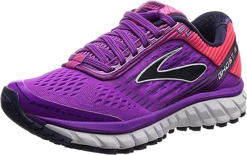 Brooks Ghost 9 W, Zapatillas de Running para Mujer, Rosa (Purplecactusflower/Divapink/Patriotblue), 43 EU: Amazon.es: Zapatos y complementos