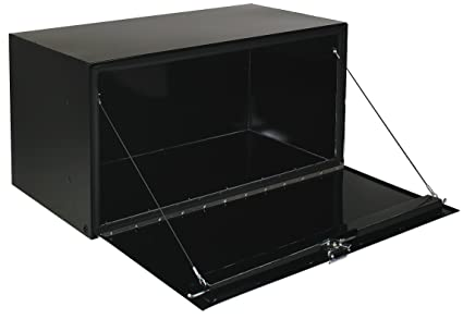 ".com: jobox 1-001002 24"" long black steel underbed truck box ..."