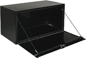 "Jobox 1-002002 36"" Long Black Steel Underbed Truck Box - 14"" x 12"""