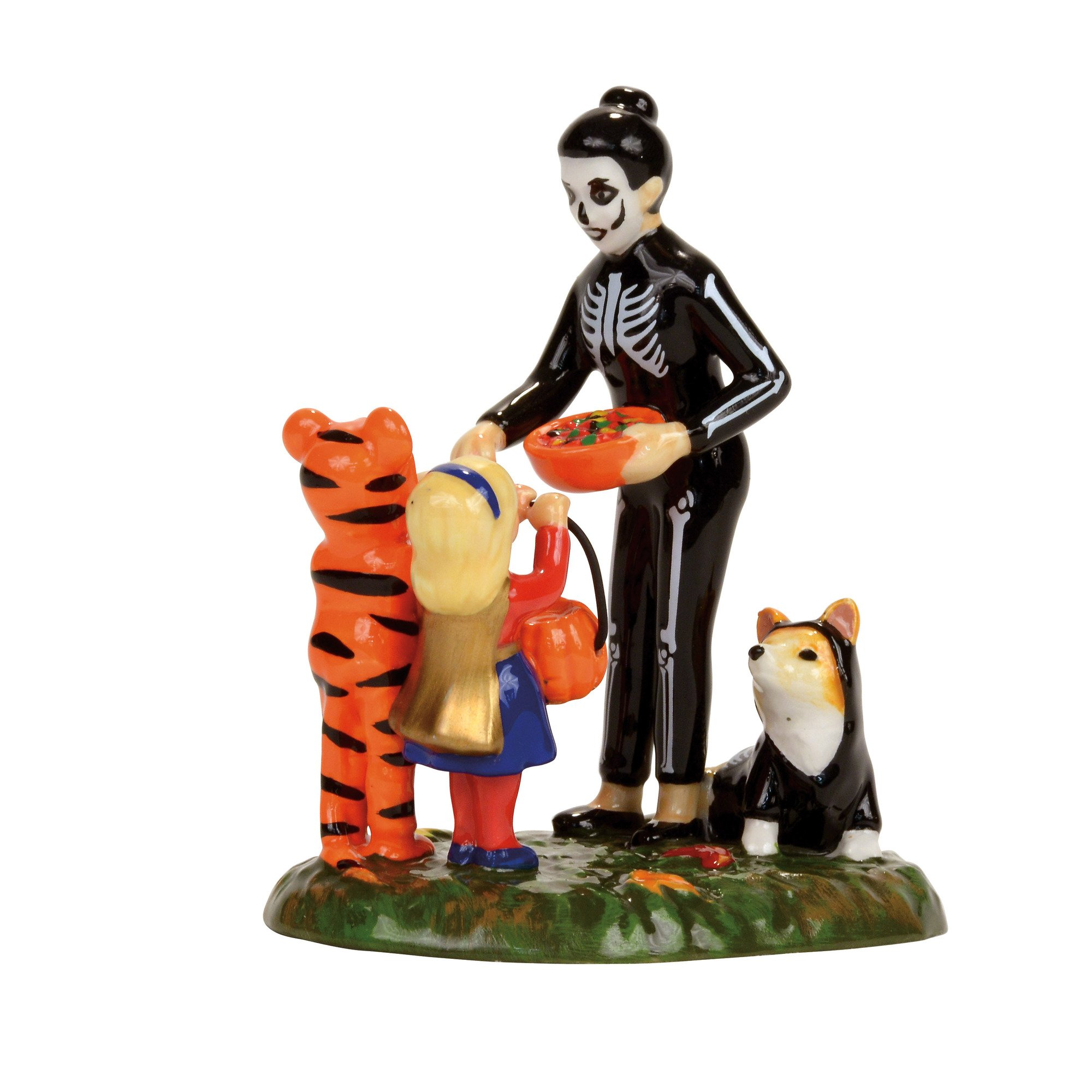Department 56 Snow Village Halloween Trick or Treating on the Lane Accessory Figurine by Department 56 (Image #1)