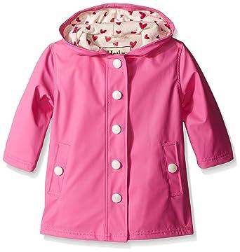 486ffa37e419 Amazon.com  Hatley Little Girls Pink Hearts Splash Jacket