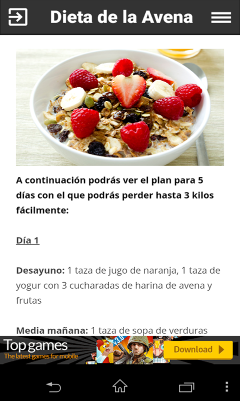Dieta de la avena: Amazon.es: Appstore para Android