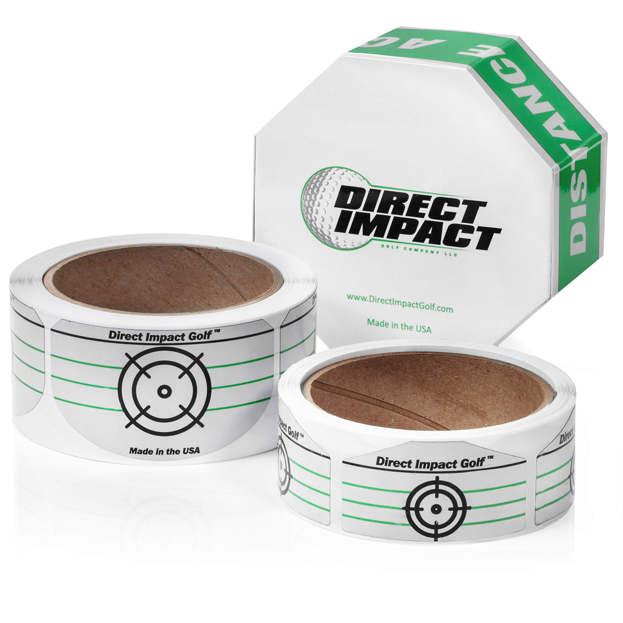 Direct Impact Golf Golf Impact Tape Combo Pack 100 Driver and 100 Iron Labels. by Direct Impact Golf