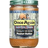 ONCE AGAIN Organic Classic Peanut Butter Creamy (No Stir)