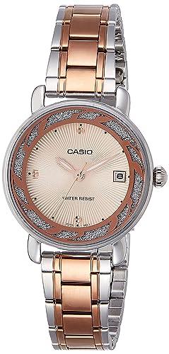 e72fbbd2344 Casio Enticer Analog Rose Gold Dial Women s Watch - LTP-E120RG-9ADF (A1044