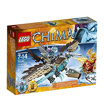 LEGO Chima 70141 Vardy's Ice Vulture Glider Building Toy: Toys & Games