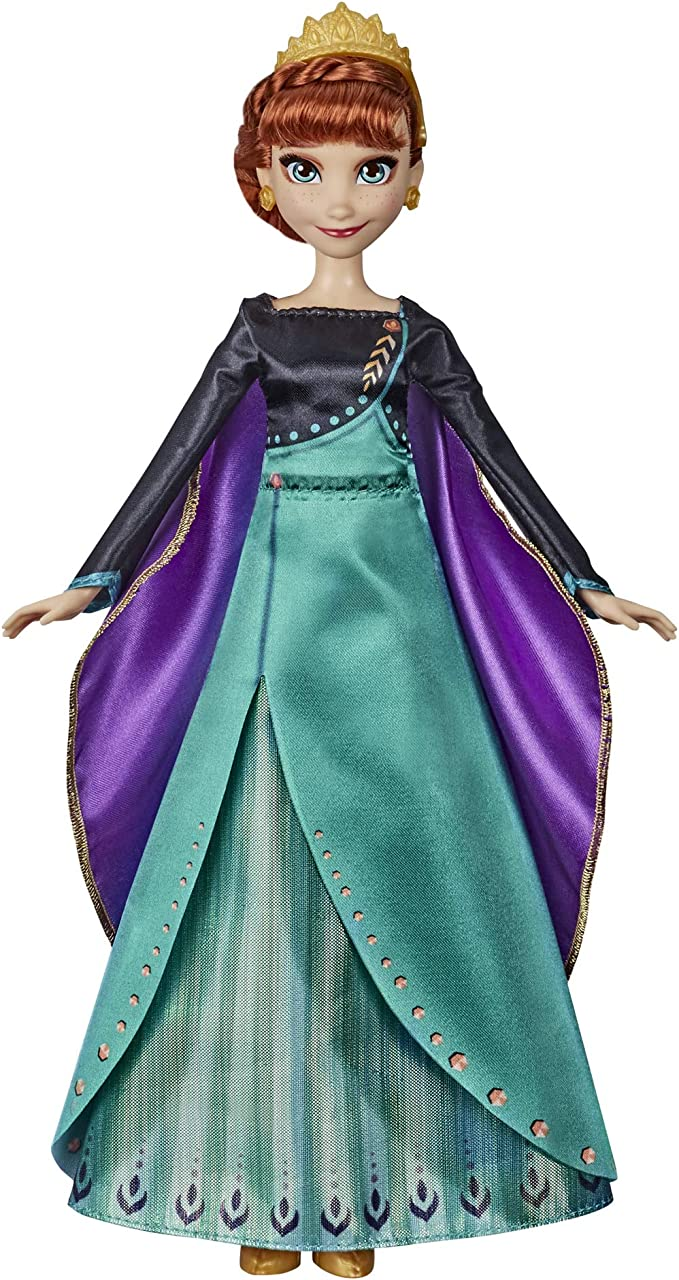 Amazon.com: Disney Frozen Musical Adventure Anna Singing Doll, Sings Some Things Never Change Song from 2 Movie, Anna Toy for Kids: Toys & Games