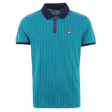 Fila Mens BB1 Polo Shirt: Amazon.es: Ropa y accesorios