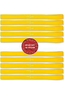 Thera Band Übungsband Fitness Physioband Widerstand Gymnastik 45m in leicht gelb