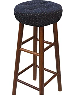 klear vu gripper twinlakes barstool cover navy - Kitchen Stools