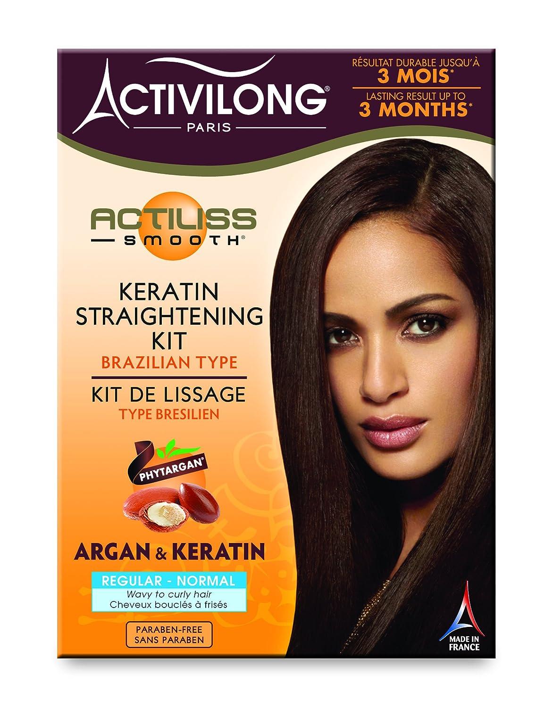 Activilong - Kit de alisado tipo brasileño normal-regular