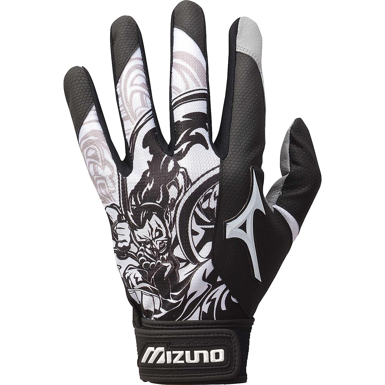 Black batting gloves - Amazon Com Mizuno Thunder Batting Glove Baseball Batting Gloves Sports Outdoors