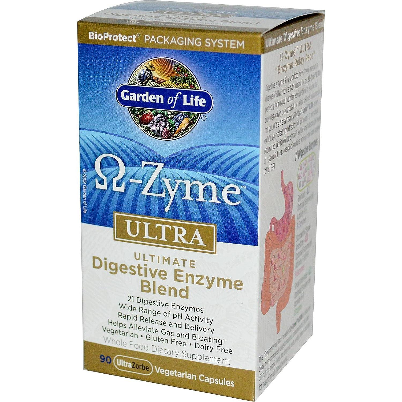 Amazon.com: Jardín de vida omega-zyme Ultra – 90 Cápsulas ...