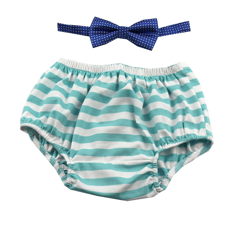 激安通販の Gentlemen Ties Gentlemen 1歳の誕生日 ケーキ割り衣装 ブルマと蝶ネクタイセット B07JDHPHNZ Blue White Bloomer White and Royal Blue Bow B07JDHPHNZ, オオズシ:135812b6 --- martinemoeykens.com